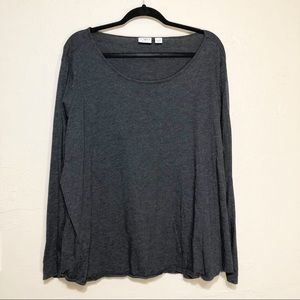 Cato Grey Long Sleeved T-shirt 26/28W
